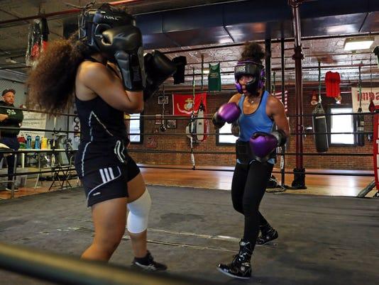 Boxer Natalie Gonzalez