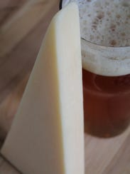 Parmesan nuttiness complements the India pale ale maltiness,