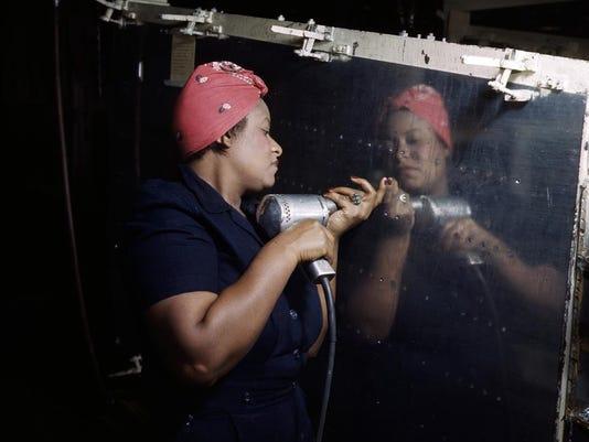Rosie the Riveter (Vultee)2MB300dpiRGB)_Alfred T. Palmer, U.S. Office of War
