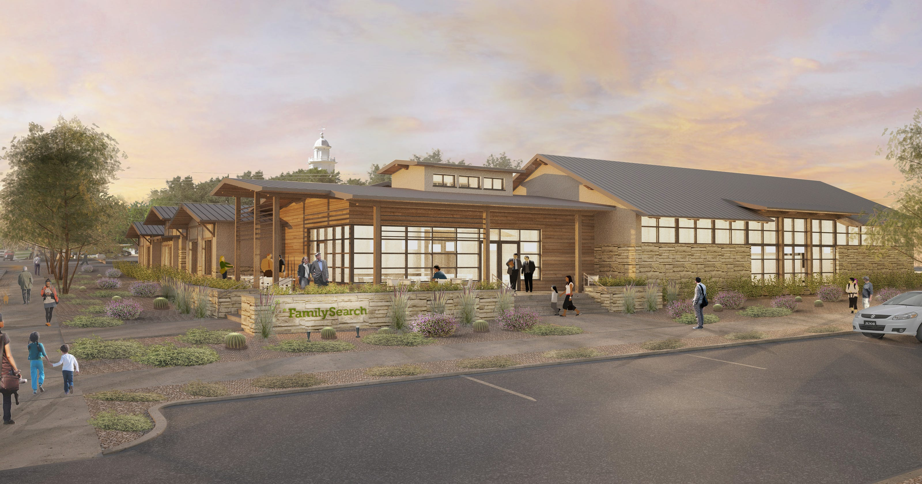 LDS church breaks ground on St  George genealogy library