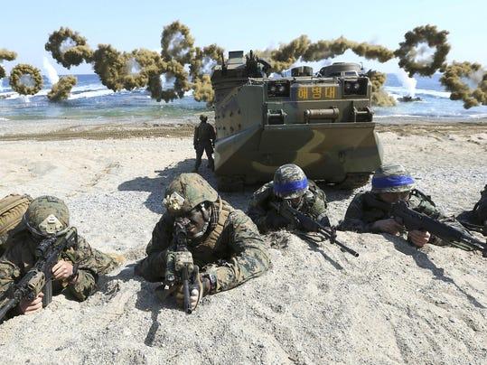 South Korea AP Explains War Games