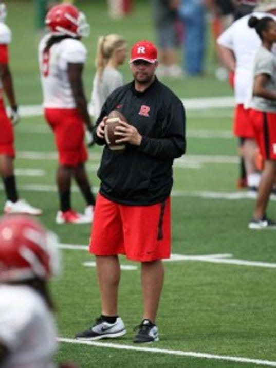 Mike Teel is Rutgers football's all-time leader in passing yards and touchdowns, though his record might be in jeopardy if Gary Nova has a strong season. (Jason Towlen/MyCentralJersey.com)