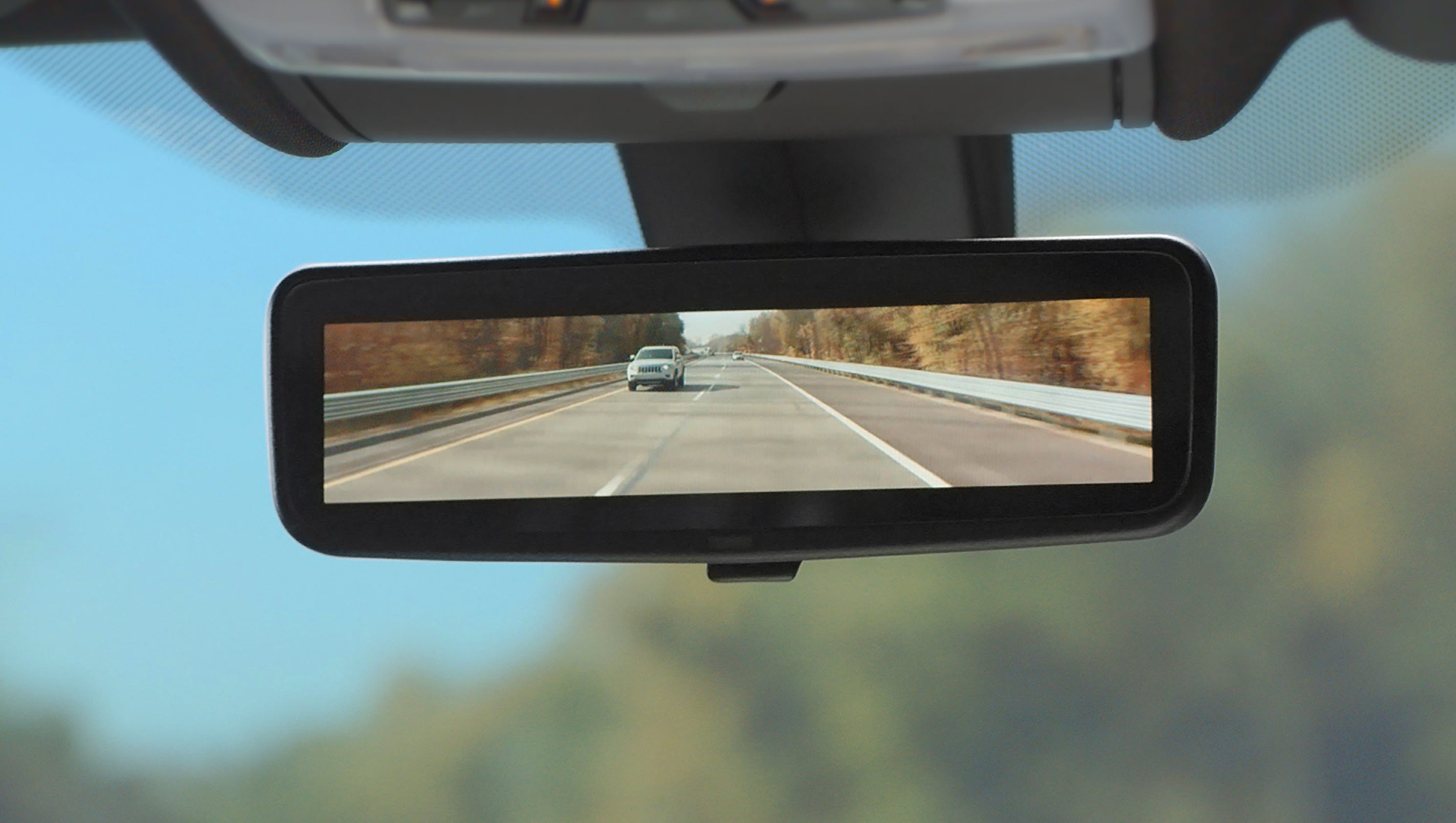 Cadillac Ct6 To Introduce High Def Rearview Mirror