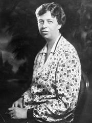 Future first lady Eleanor Roosevelt in 1928.