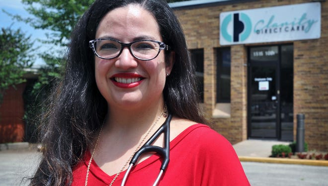 Dr. Kissi Blackwell has been practicing family medicine in Wichita Falls for several years and will soon open the area's first direct primary care practice, a new model that is an alternative to fee-for-service insurance billing.