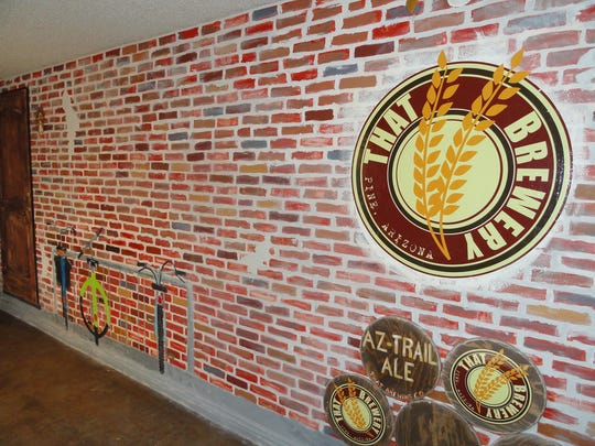 THAT Brewery & Pub in Pine offers a pub-style menu with gourmet pizzas, burgers. salads and appetizers.