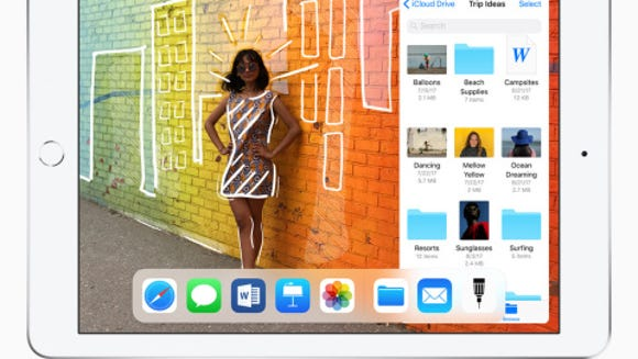 Apple's new 9.7 inch iPad sells for $329 and has a