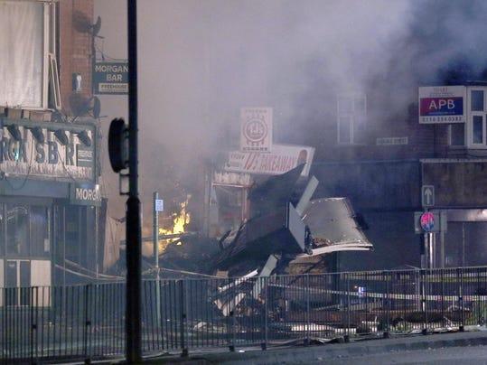 Britain City Explosion