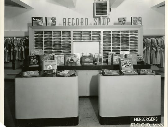 The Herberger's lower level, 1948.