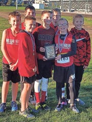 The Raiders' state champion seventh-grade boys cross-country