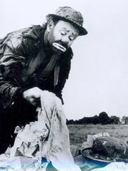 Emmett Kelly, shown here in a early 1960s photo, was famous for portraying Weary Willie.