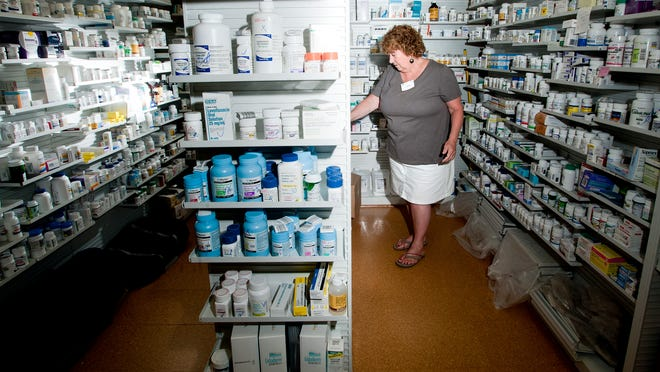 Audrey Lyford, pharmacy technician at Northfield Pharmacy, is the coordinator for the Simplify My Meds program. Vermont insurance companies have volunteered to help patients consolidate pick-ups of multiple prescriptions.
