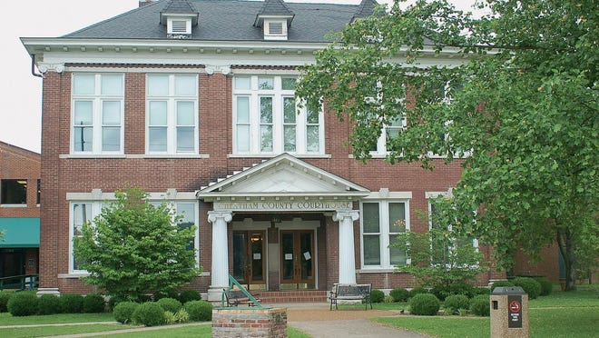 The Cheatham County Courthouse.