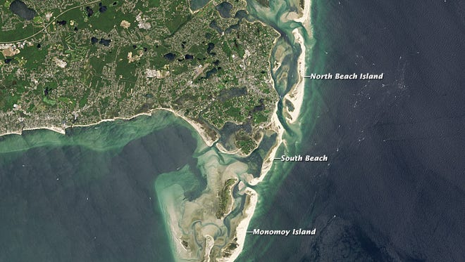 Cape Cod's elbow on July 30, 2013