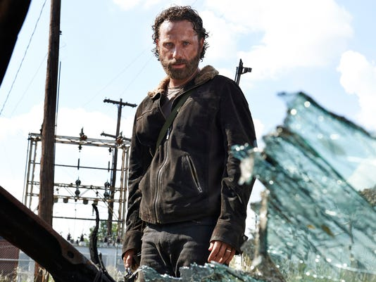 "So, Rick Grimes had an interesting week on ""The Walking Dead."""
