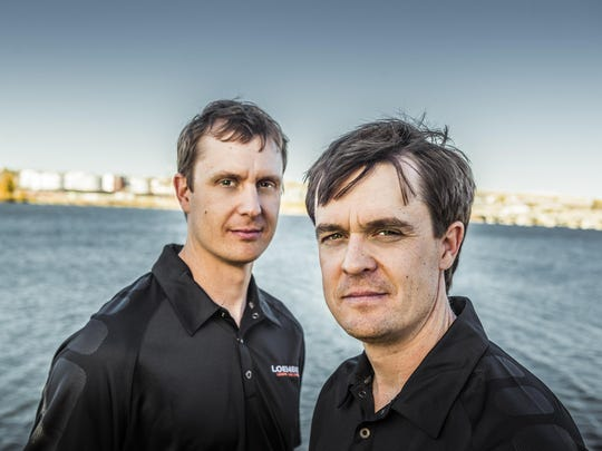 2 Loenbro founders Jon and Paul Leach
