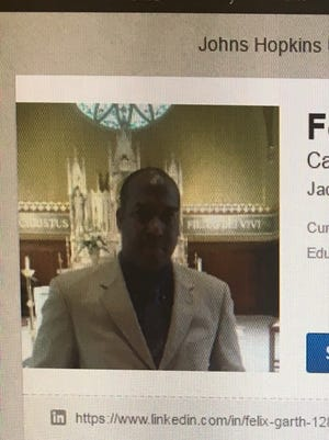 Felix Garth, Jr., as seen on his LinkedIn page