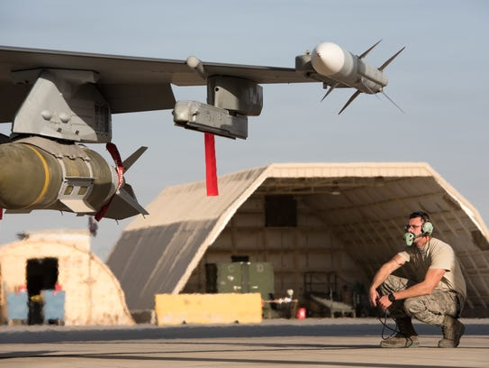 Staff Sgt. Larry Runk, 407th Expeditionary Maintenance