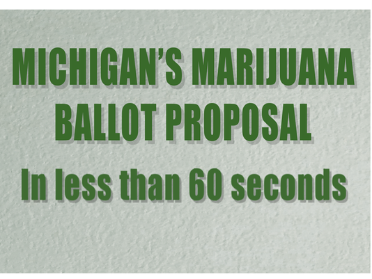 Michigan's marijuana ballot proposal