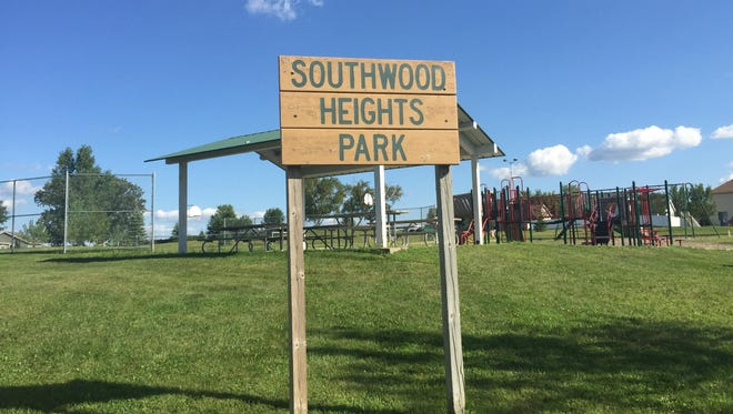 Southwood Heights Park in south St. Cloud is a part of the surrounding Southwood Heights addition.