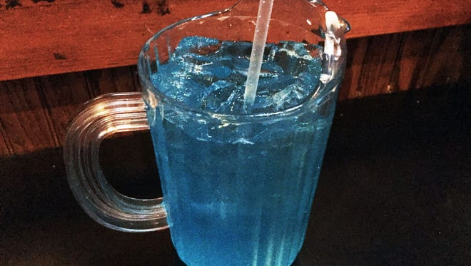 The AMF Long Island at Kilroy's is served in a pitcher.