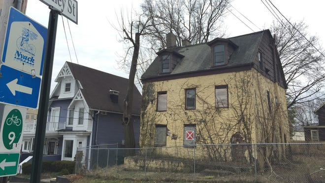 After the destruction of the Abram Lent House, civic and preservation groups are organizing to protect other historic properties in Orangetown, like Nyack's John Green House, seen here on the right.