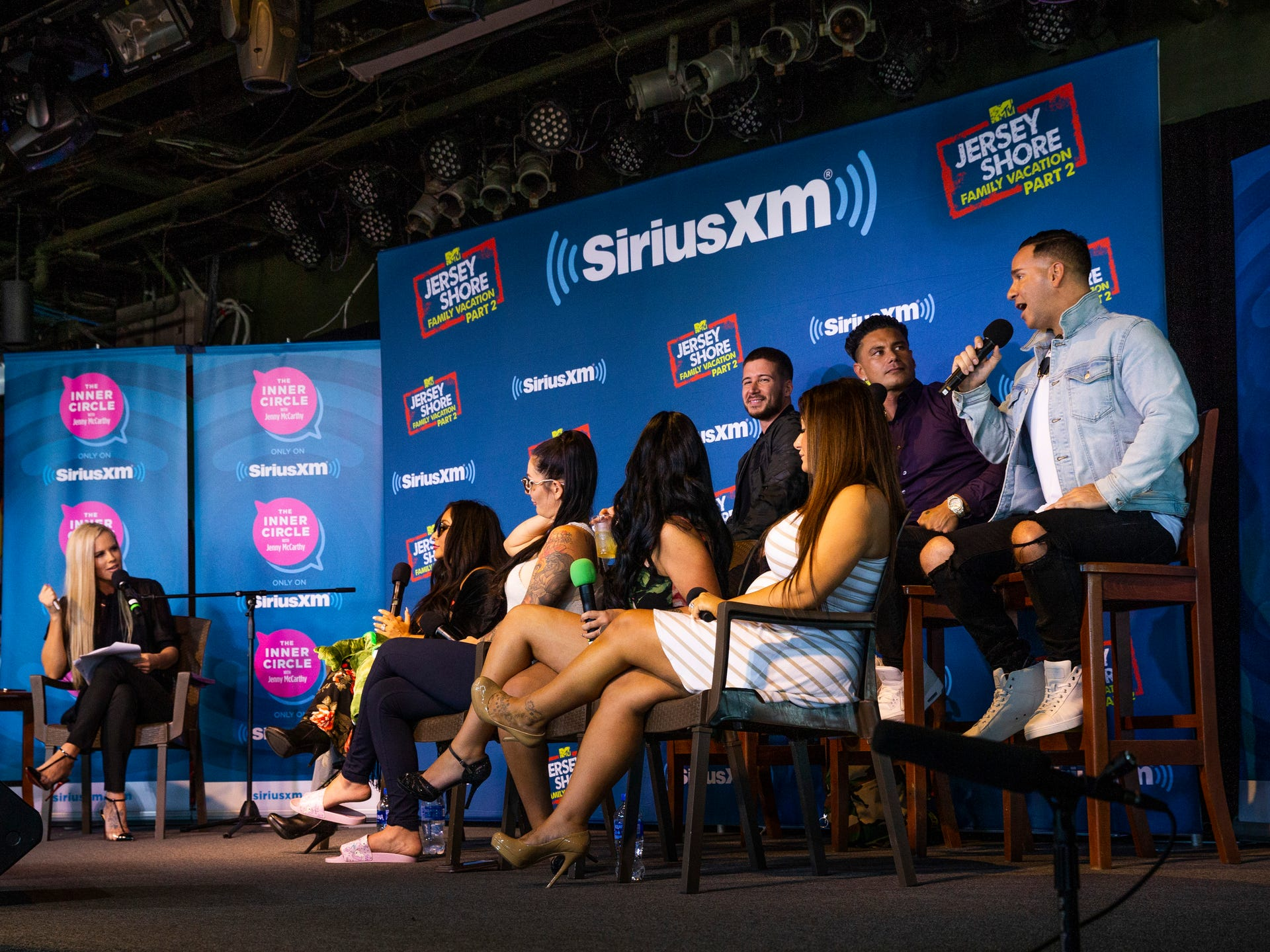 Jersey Shore Family Vacation cast interview with Jenny McCarthy