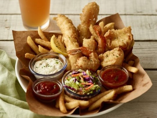 The Angler's Catch from Bonefish Grill - tempura-battered