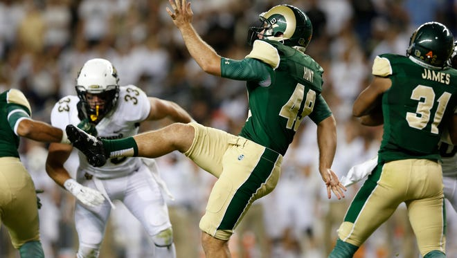 CSU punter Hayden Hunt ranks seventh on our list of the 10 most important players for the Rams in 2016 thanks to his ability to change field position with one swift kick.