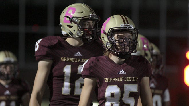 Brebeuf Jesuit knocked off perennial power Cathedral on Friday night.