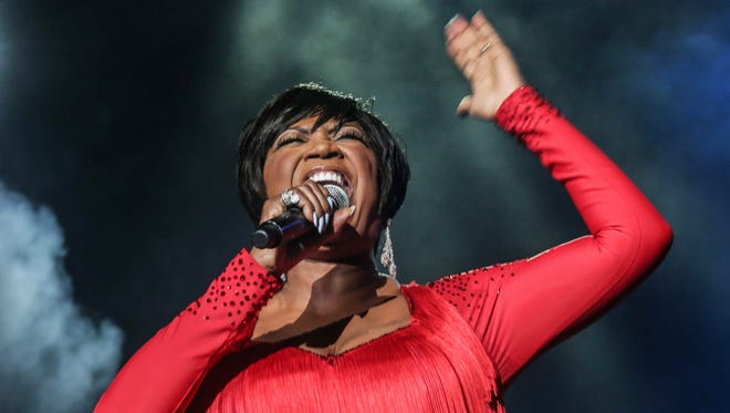 Patti LaBelle, pictured in 2015, returns to Newark's New Jersey Performing Arts Center on Feb. 12.