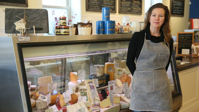 Sabina Magyar opened the Village Cheese Shop at 1430 Underwood Ave., Wauwatosa, in summer.