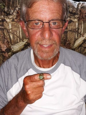 The Greencastle-Antrim High School class ring he lost 45 years ago near Martin's Mill Bridge is now back in John W. Thomas Jr.'s hands.
