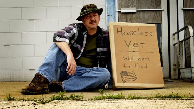 On any given night in this country, there are more than 60,000 homeless veterans sleeping in our streets.