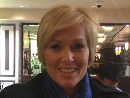 """Brenda Gold, 54, a Cincinnati school teacher recently received a makeover on """"Live with Kelly and Michael."""" She will try out for the Bengals cheerleading squad in May."""