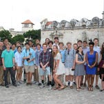 23 students from Kent Denver traveled to Cuba and donated instruments and musical supplies to students in the country.