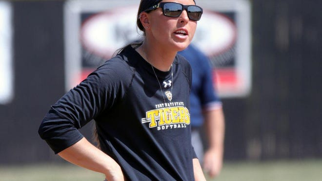 Fort Hays softball coach Adrian Pilkington's Tigers will play a standard 26-game conference schedule and schedule as many as 18 nonconference games.
