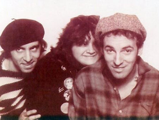 Stevie Van Zandt, Obie Dziedzic and Bruce Springsteen.