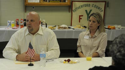 U.S. Rep. Scott DesJarlais may hold a lead in the Republican primary, a poll claims. (FILE PHOTO)