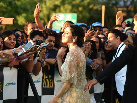 Bollywood holds its version of the Oscars at MetLife