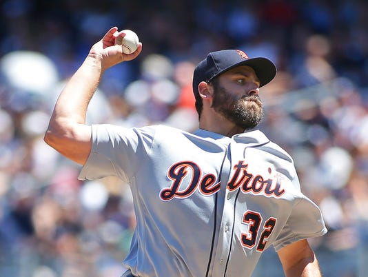 MLB: Detroit Tigers at New York Yankees