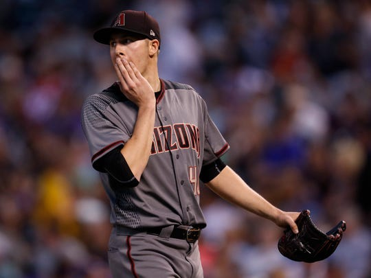 Arizona Diamondbacks starting pitcher Patrick Corbin