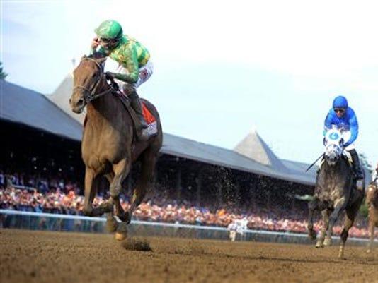 Travers American Pharoah Horse Racing