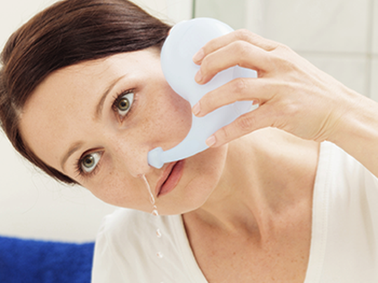 Neti pots and other nasal irrigation methods can help allergy sufferers.