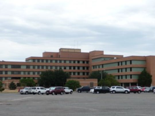 The Sheppard Air Force Base Hospital is now home to the area's Veterans Administration Clinic