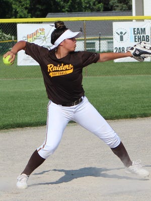 Junior shortstop Mara Sczecienski, who will play at the University of Hartford, had five hits and four RBI in helping to lead North Farmington to the district softball championship.