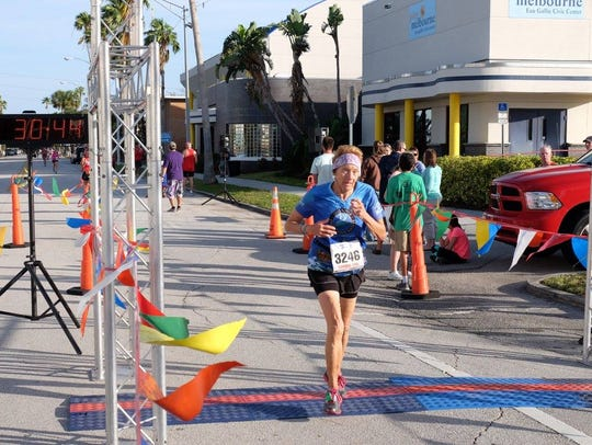 Mary Ramba, 70, has used running to overcome bad habits,
