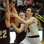 Lancaster girls basketball continues resurgent season, eliminates Licking Heights