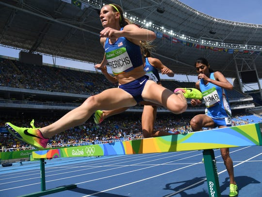 Courtney Frerichs went from Nixa to the finals of the Olympic steeplechase competition.