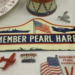 Display of rare items marks 75th anniversary of Pearl Harbor